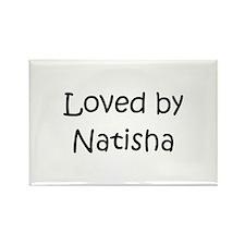 Cute Natisha Rectangle Magnet
