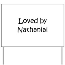 Cute Nathanial Yard Sign