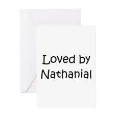 Unique Nathanial Greeting Card