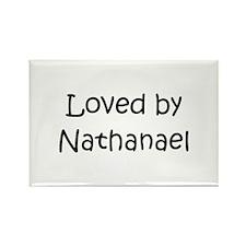 Cute Nathanael Rectangle Magnet