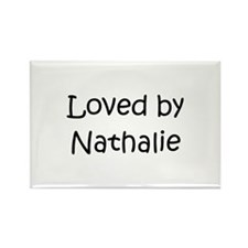 Cute Nathaly Rectangle Magnet