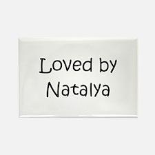 Cute Natalya Rectangle Magnet