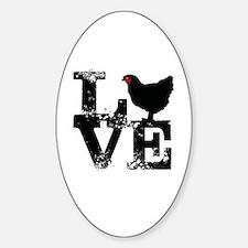 Cute My man Sticker (Oval)