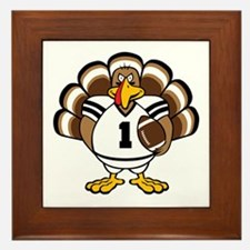 Turkey Bowl Framed Tile