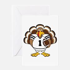 Turkey Bowl Greeting Card