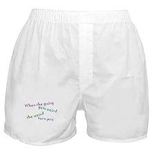 Weird Pro Boxer Shorts