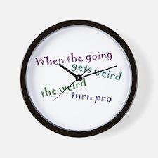 Weird Pro Wall Clock