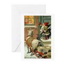 God Jul Greeting Cards (Pk of 10)
