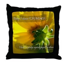 Choose Forgiveness Throw Pillow