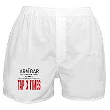 Arm Bar Boxer Shorts