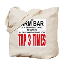 Arm Bar Tote Bag