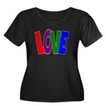 LOVE & Friendship Women's Plus Size Scoop Neck Dar