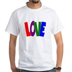 LOVE & Friendship White T-Shirt