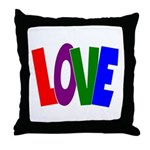 LOVE & Friendship Throw Pillow