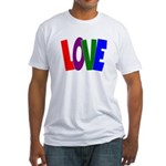 LOVE & Friendship Fitted T-Shirt
