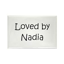 Cute Nadia Rectangle Magnet