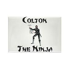 Colton - The Ninja Rectangle Magnet
