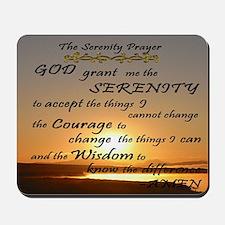The Serenity Prayer Mousepad