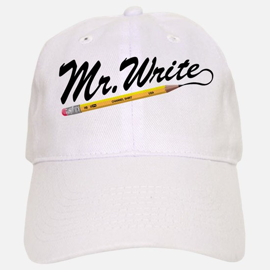 'Mr. Write' Author's Baseball Baseball Cap