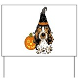 Basset hound Yard Signs