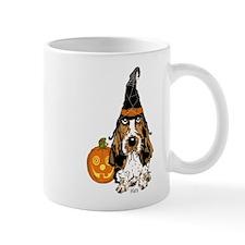 Halloween Pumkin Basset Mug