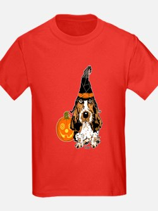 Halloween Pumkin Basset T