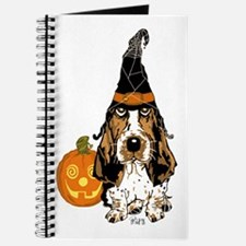 Halloween Pumkin Basset Journal