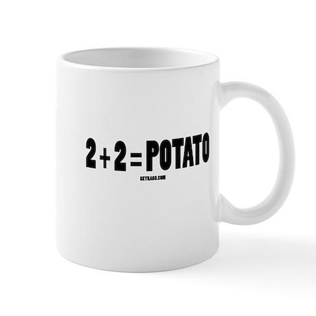 2+2=POTATO Mug