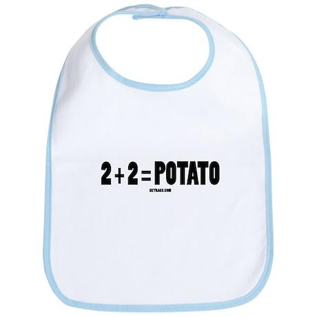 2+2=POTATO Bib