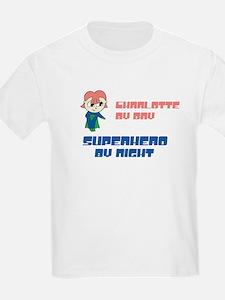 Charlotte - Super Hero by Nig T-Shirt