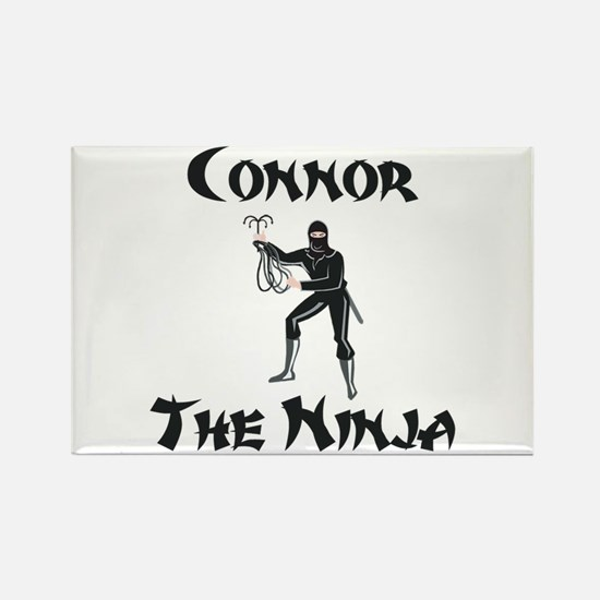 Connor - The Ninja Rectangle Magnet