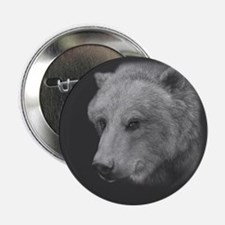 Rosy, Grizzly Bear Button