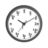 Math wall clock Wall Clocks