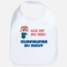 Chloe - Super Hero by Night Bib