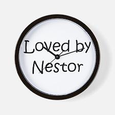 Cute Nestor Wall Clock