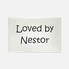 Cute Nestor Rectangle Magnet