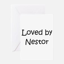 Cute Nestor Greeting Card