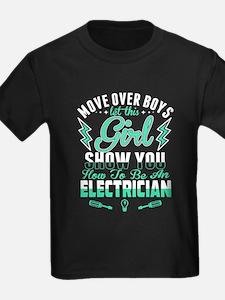 To Be An Electrician T Shirt T-Shirt
