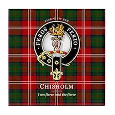 Clan Chisholm Tile Coaster
