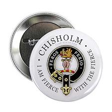 "Clan Chisholm 2.25"" Button"