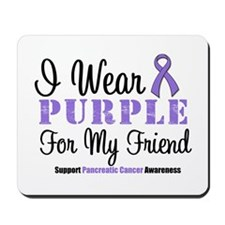 I Wear Purple (Friend) Mousepad