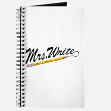'Mrs. Write' Author's Journal