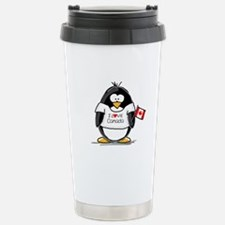 Canada Penguin Stainless Steel Travel Mug