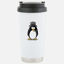 Groom penguin Travel Mug