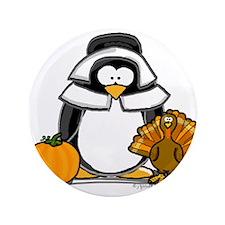 """Pilgrim Girl Penguin 3.5"""" Button"""