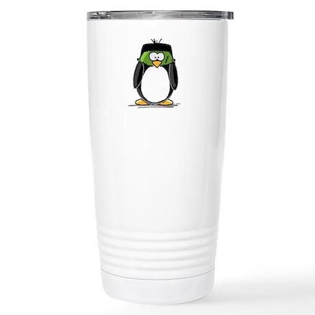 Frankenstein Penguin Stainless Steel Travel Mug