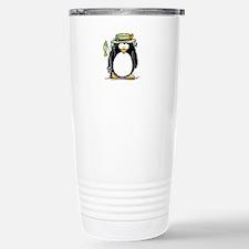 Fishing penguin Travel Mug
