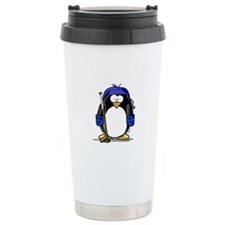 Hockey Penguin Travel Mug