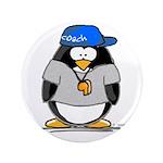 """Coach penguin 3.5"""" Button"""