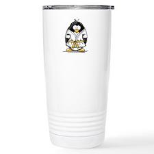 Martial Arts gold belt pengui Travel Mug